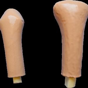 Simuladores para técnica de punção intraóssea